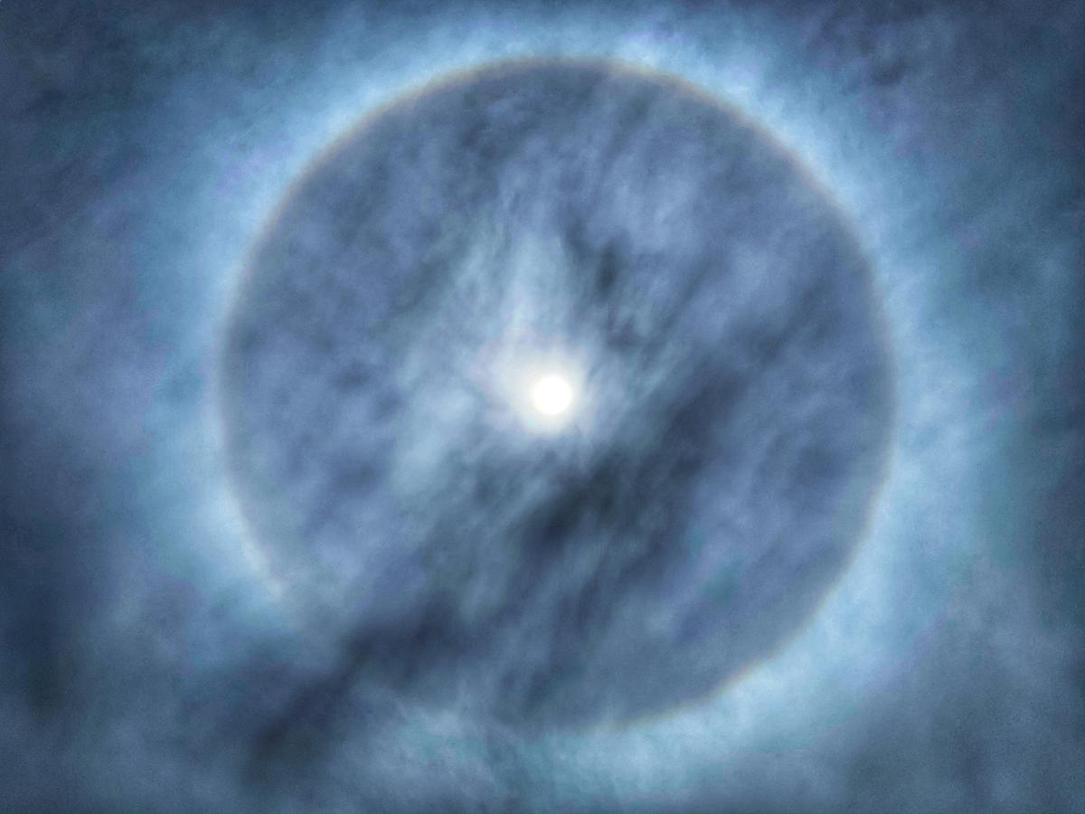 Areola solare arcobaleno | Blog di viaggi