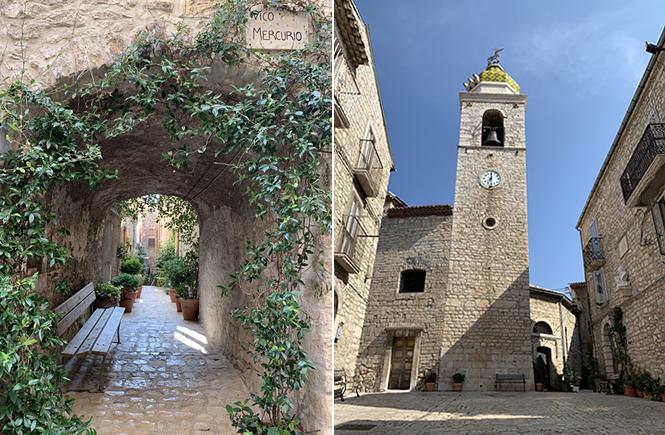 Borgo di Oratino in Molise