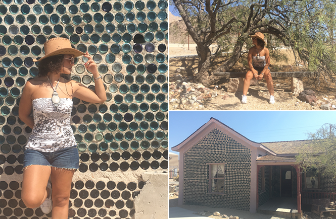 Ryolite bottle house | Ghost town Nevada