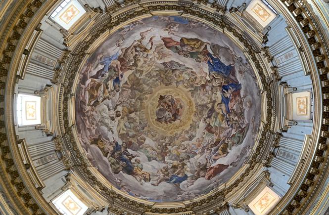 Paradiso di Lanfranco | Cappella San Gennaro