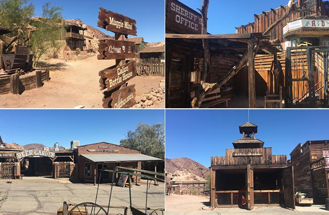Calico ghost town | California