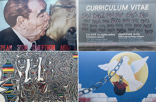 East Side Gallery | Berlino
